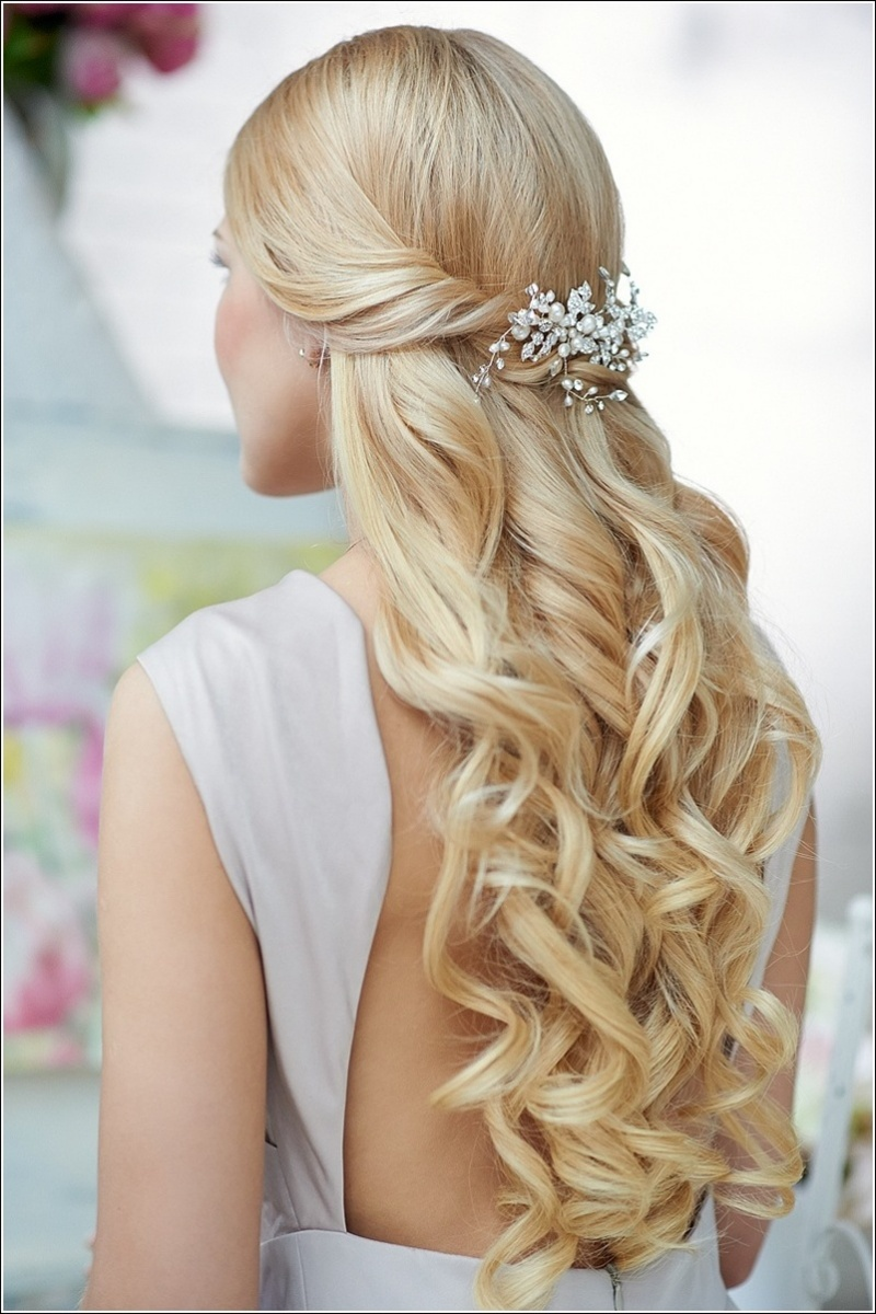 Beautiful Wedding Hairstyles For Girls