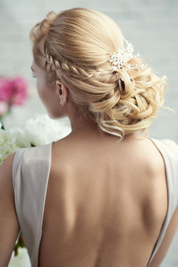 Blonde Stylish Bridal Hair
