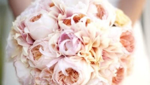 Bridal Bouquet With Soft Colors