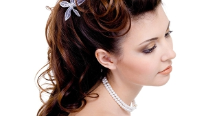 Bridal Long Curly Hairstyle