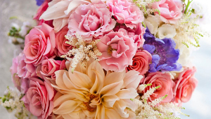 Colorful Bridal Flowers