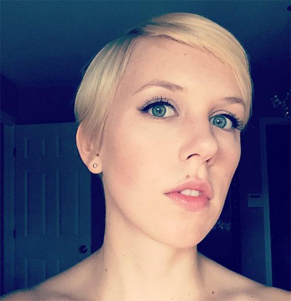 Cute Short Blonde Haircut