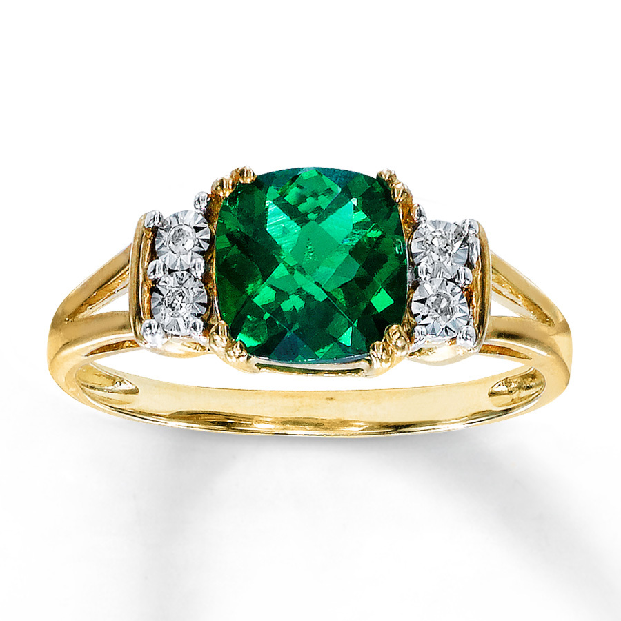 Emerald And Diamond Engagement Rings