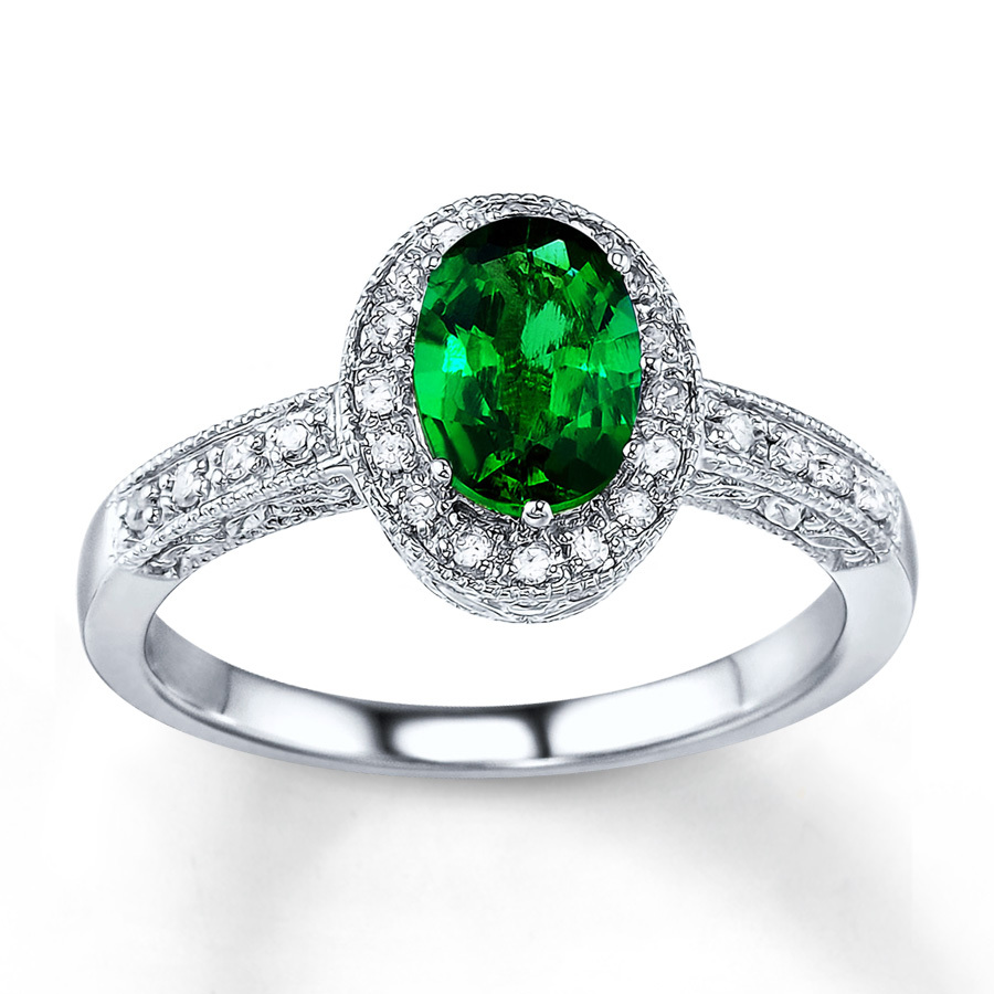 Emerald Rings For Women