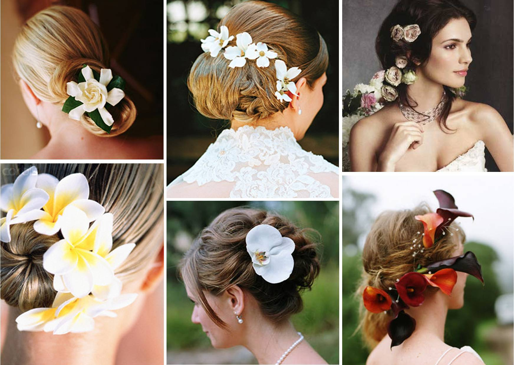 Floral Wedding Hairstyles