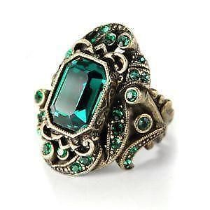 Genuine Emerald Rings
