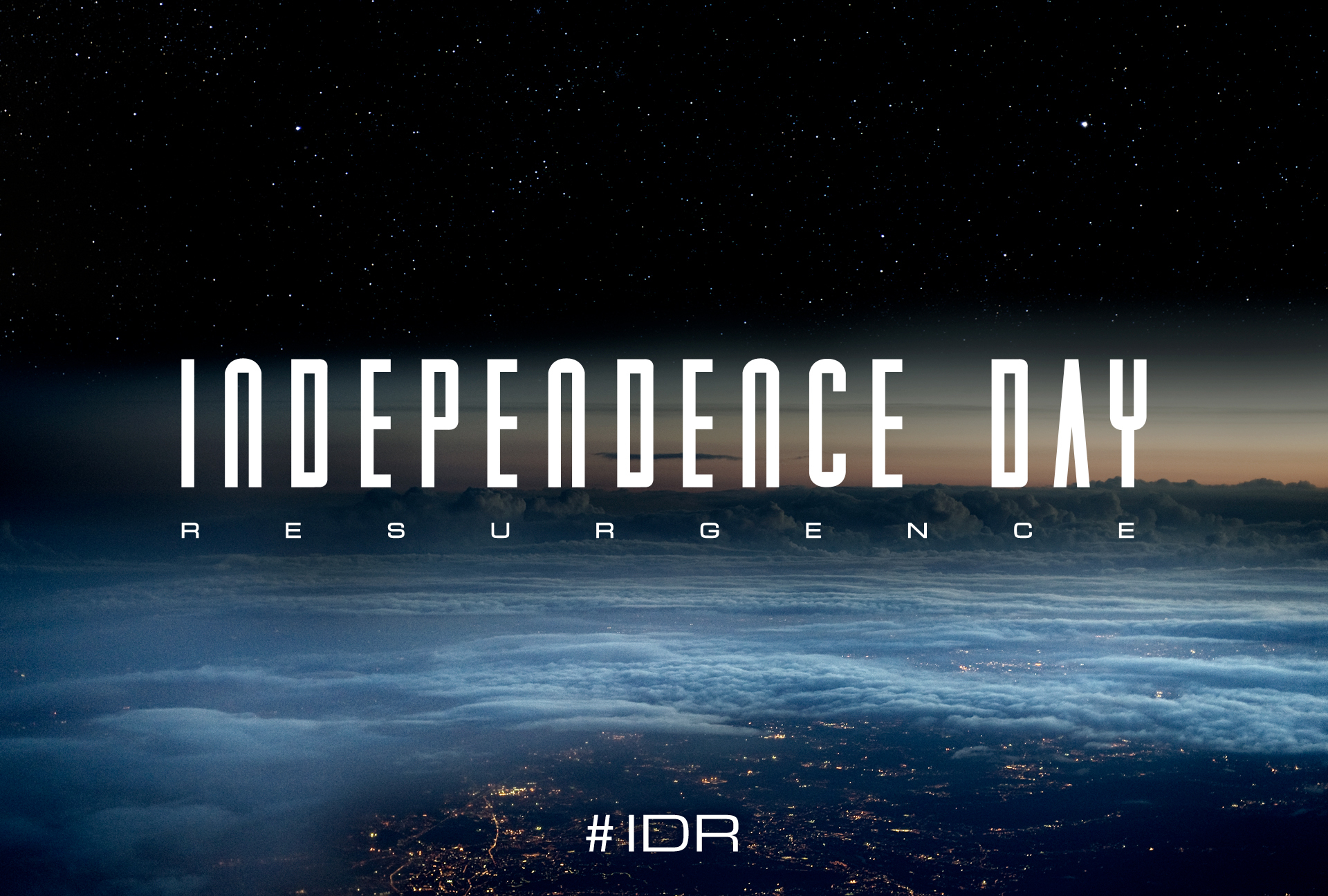 Independence Day 2 Resurgence Title Treatment