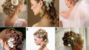 Long Flowers Wedding Hairstyles
