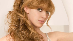 Long Wavy Bridal Hairstyle