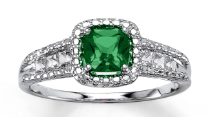 Mens Emerald Rings