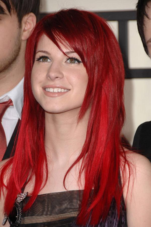 Paramore Long Red Hair