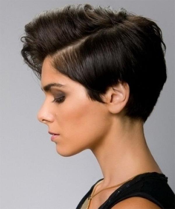 Short Black Hairstyle Idea