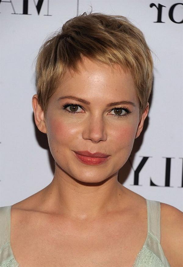 Short Blonde Cute Hairstyle