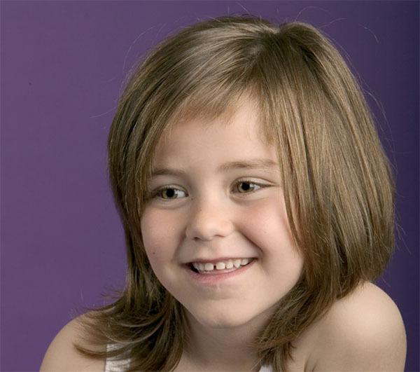 Short Hair Cut Idea For Daugter