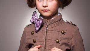 Short Stylish Kid Hairstyle