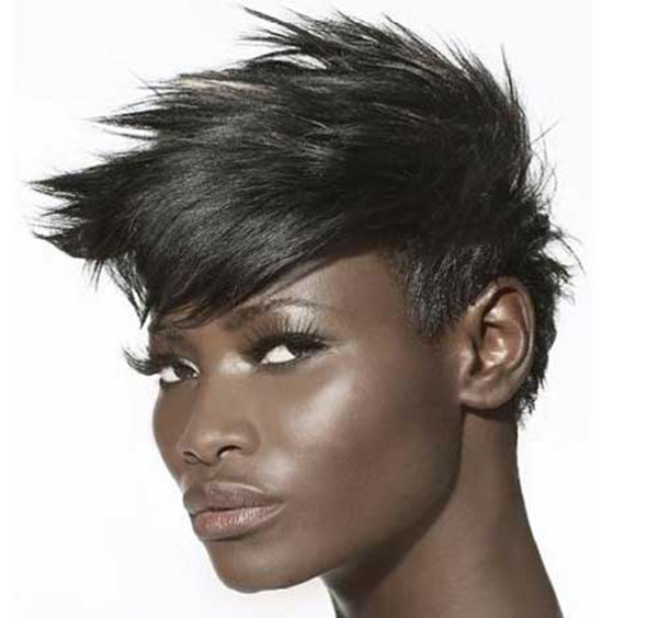 Spiky Hairstyle For Blacks