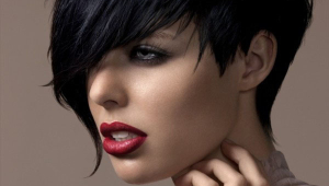 Stylish Black Short Hairstyle