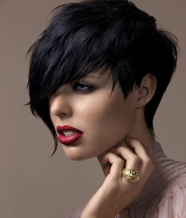 Stylish Black Short Hairstyle