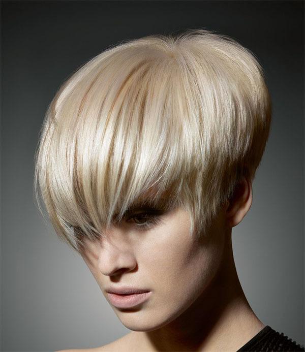Stylish Blonde Short Hairstyle