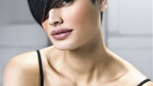 Stylish Short Black Hairstyle