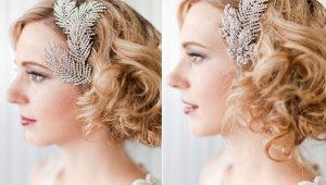 Vintage Bridal Hair Combs