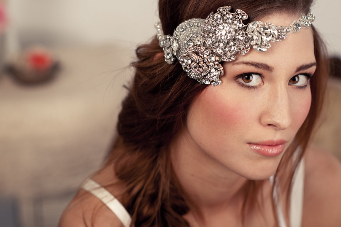 Vintage Wedding Hairstyles Down With Veil