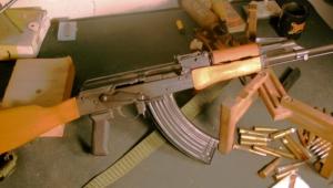 AK 47 Widescreen