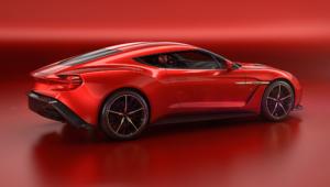 Aston Martin Vanquish Zagato Concept Photos