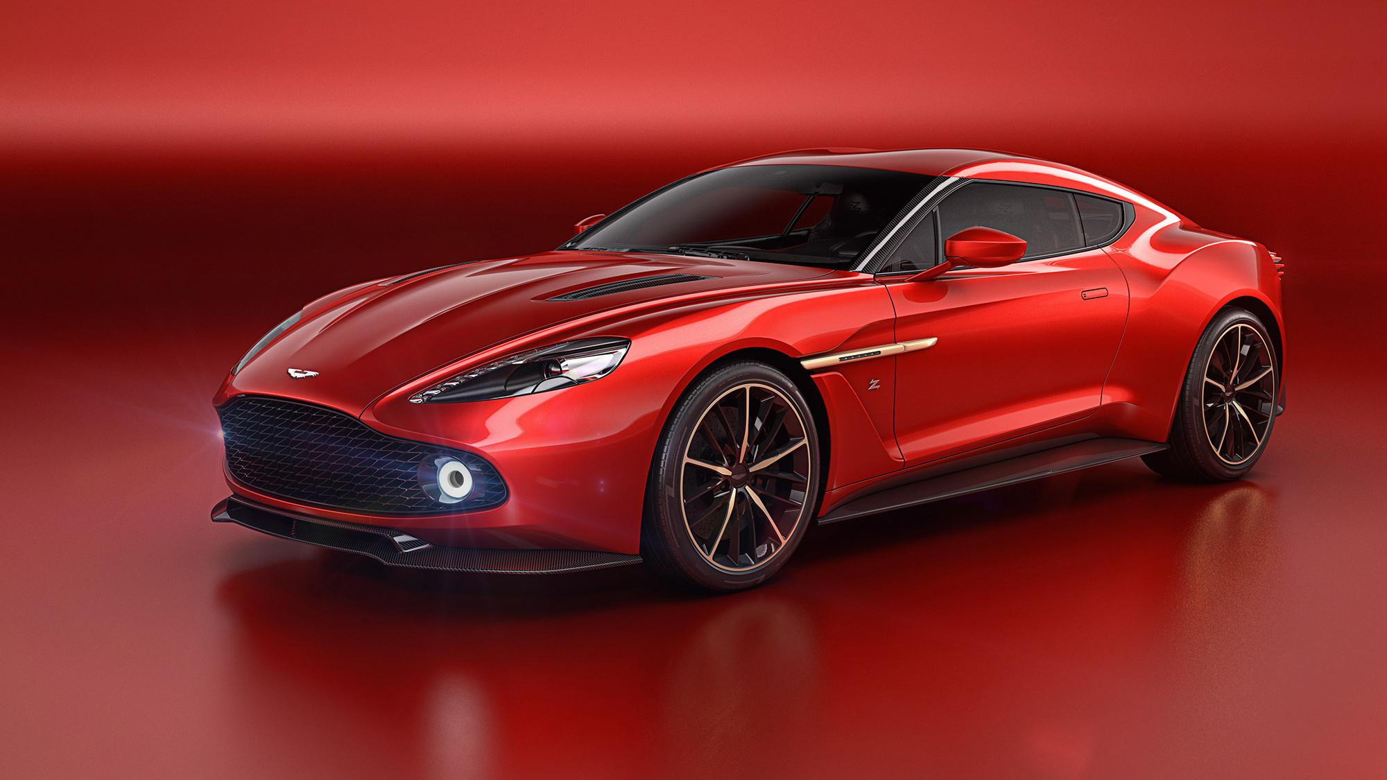 Aston Martin Vanquish Zagato Concept Wallpapers HD