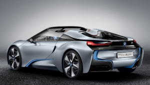 BMW I8 Spyder Background