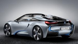BMW I8 Spyder Background