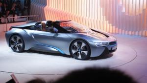 BMW I8 Spyder Widescreen