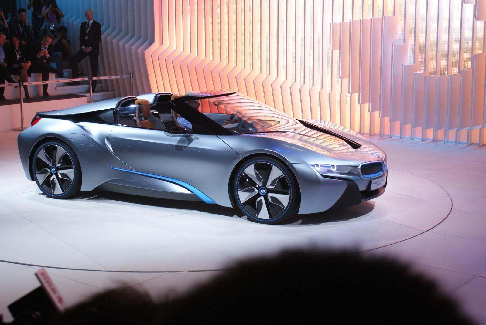 BMW I8 Spyder Widescreen