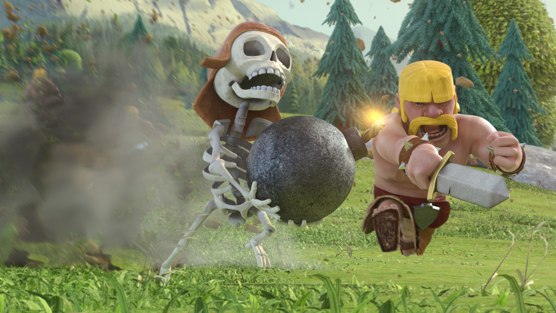 Clash Of Clans HD Background
