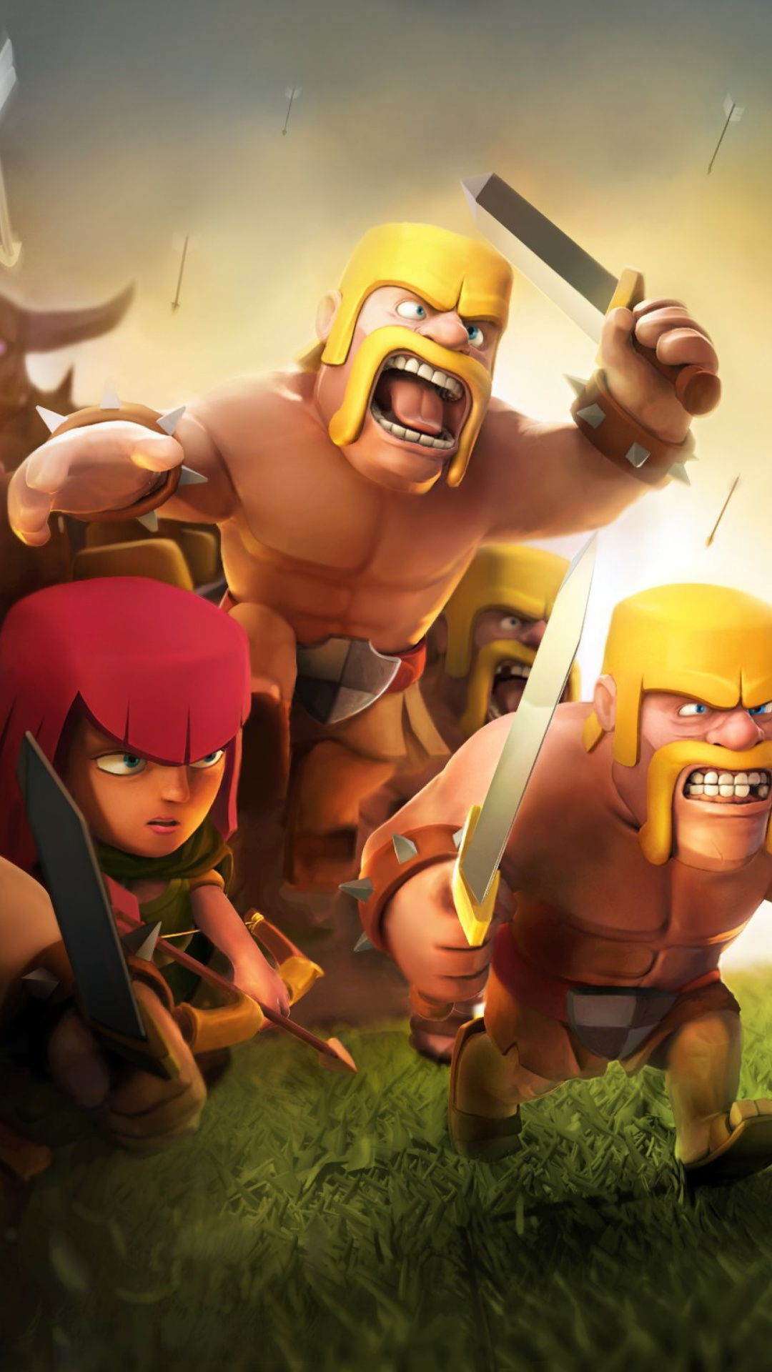 Clash Of Clans Iphone Wallpapers