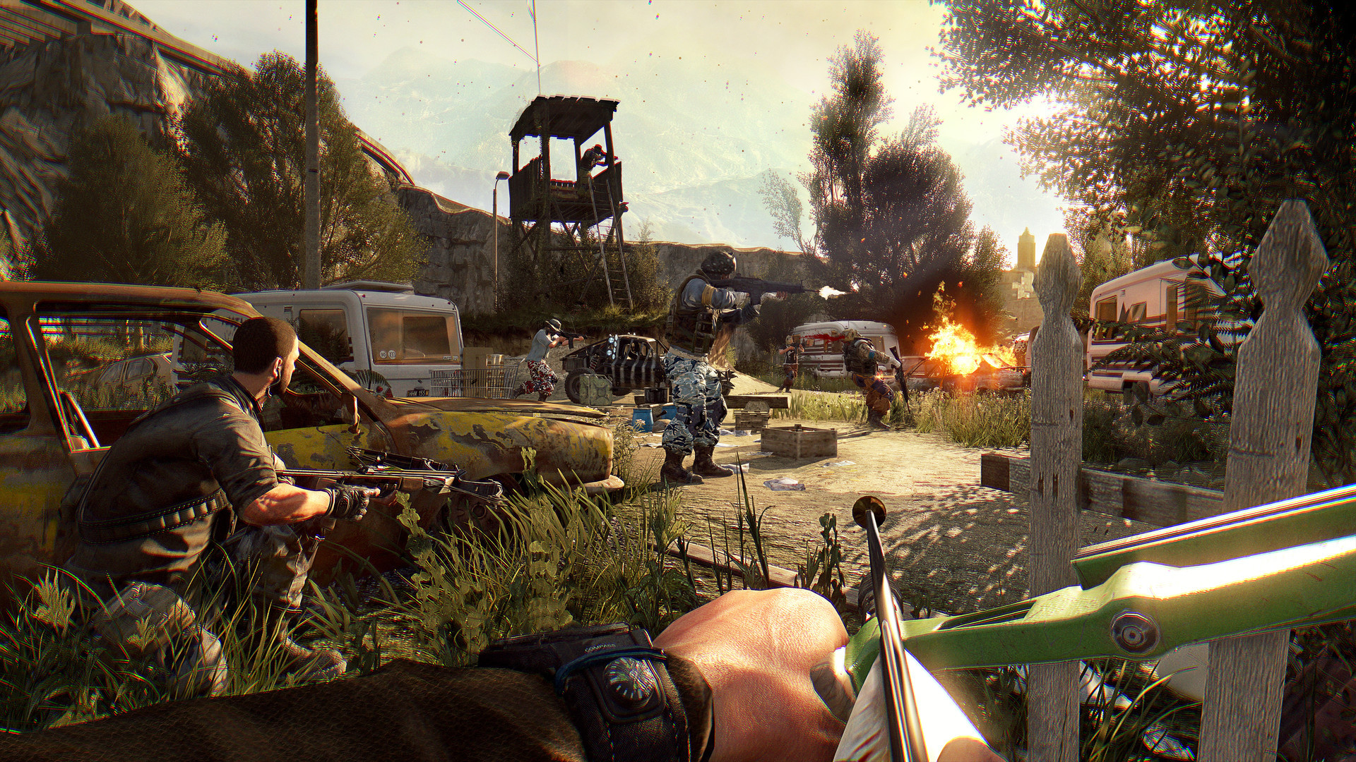 Dying Light The Following Wallpapers Images Photos Pictures