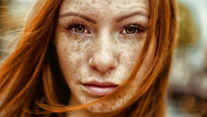 Freckled Girls HD Wallpaper