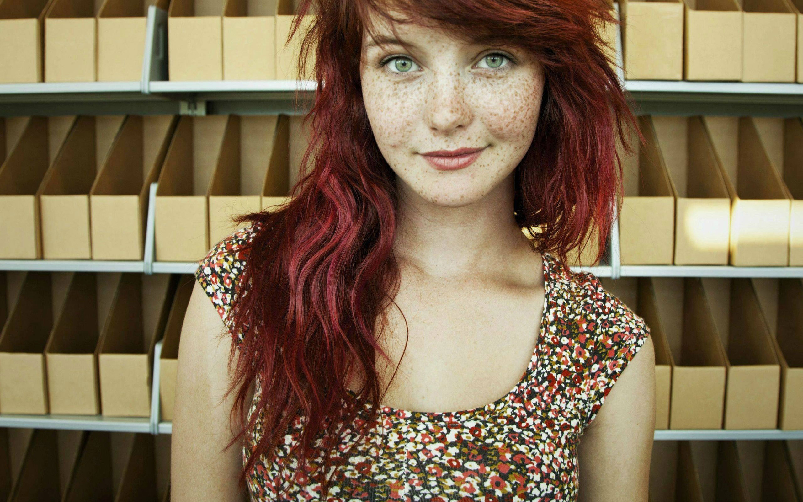 Freckled Girls Wallpapers