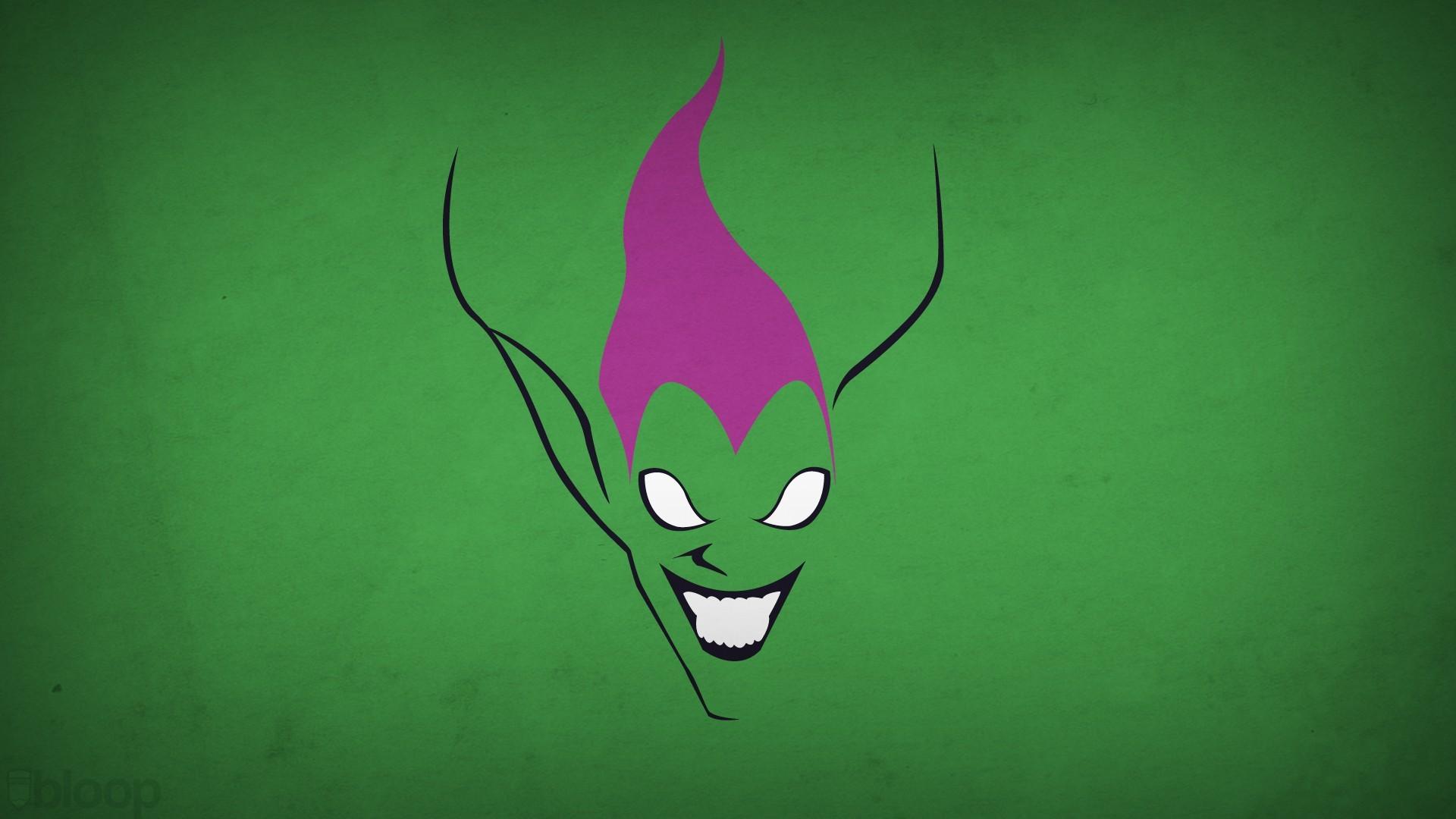 Green Goblin Minimalism Blo0p