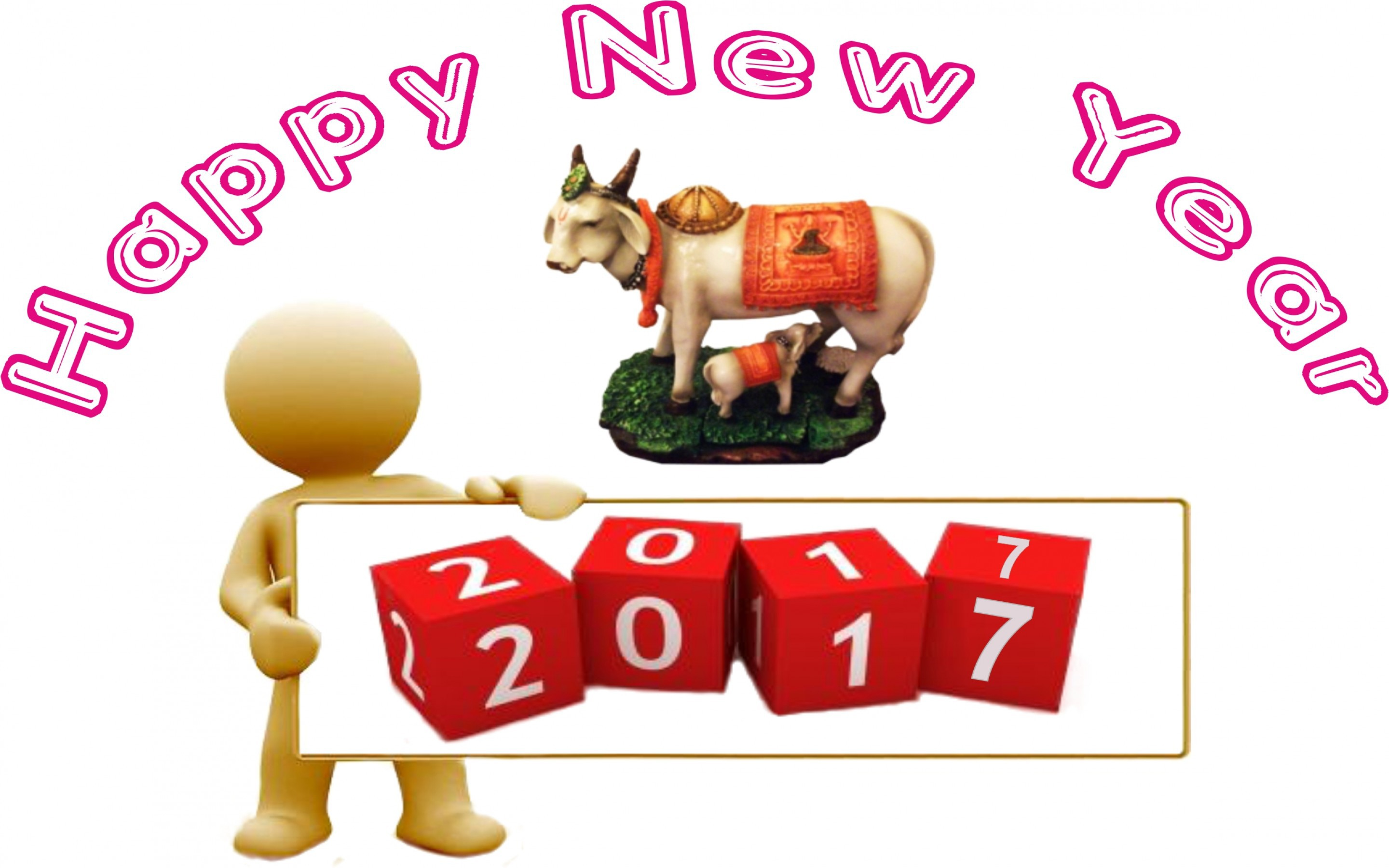 Happy New Year 2017 High Definition Wallpapers