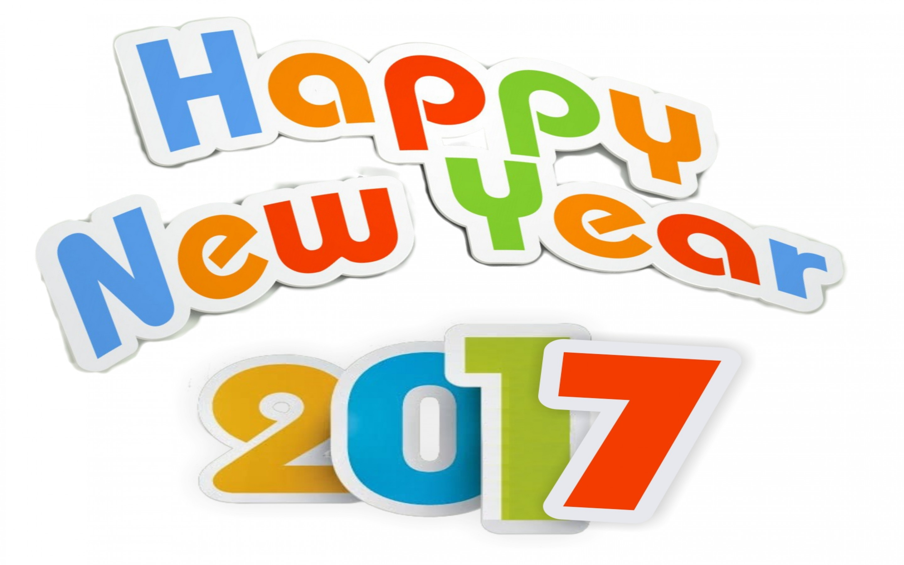 Happy New Year 2017 Widescreen