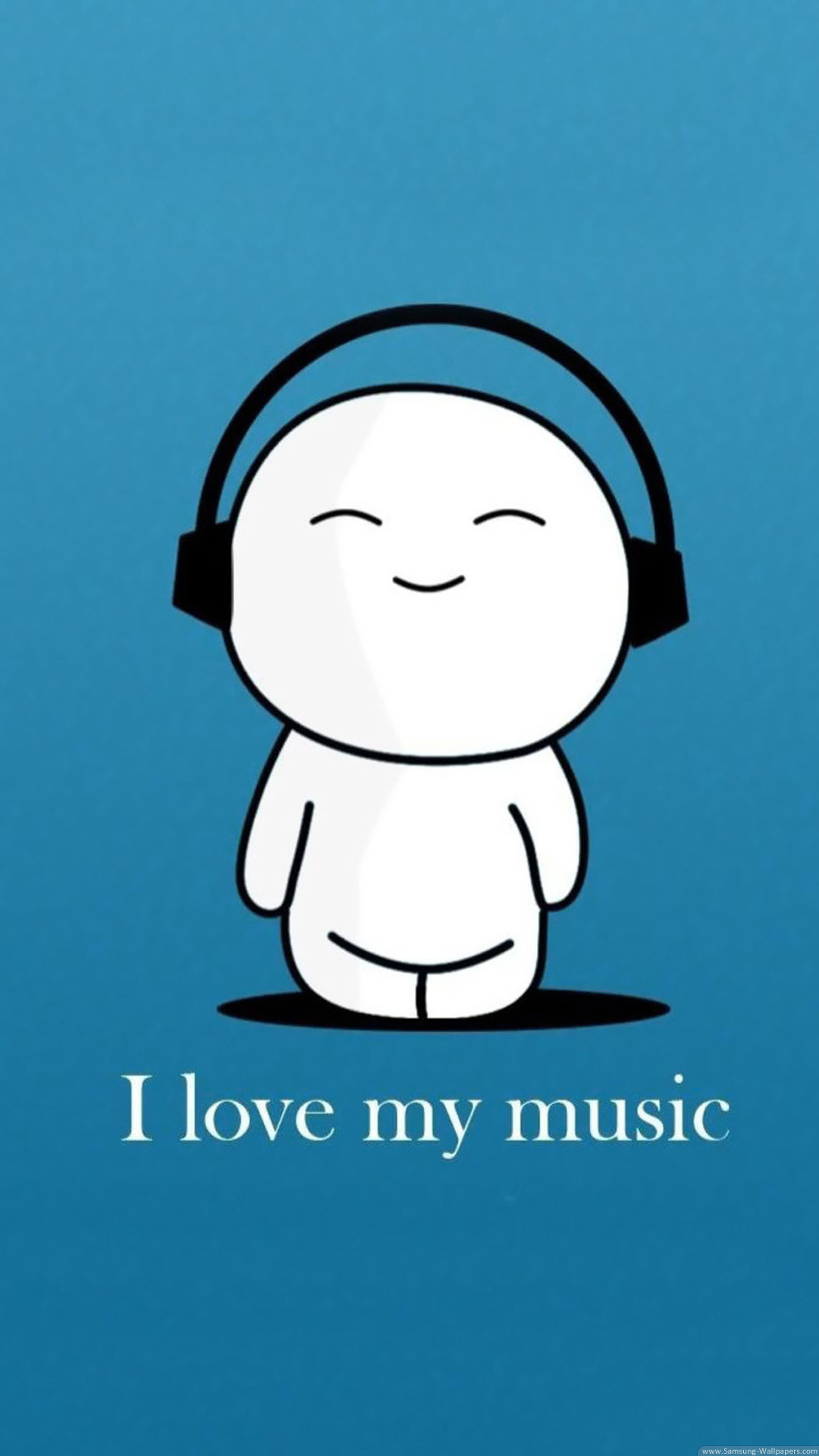 I Love My Music Iphone 6 Wallpaper Ilikewallpaper Com