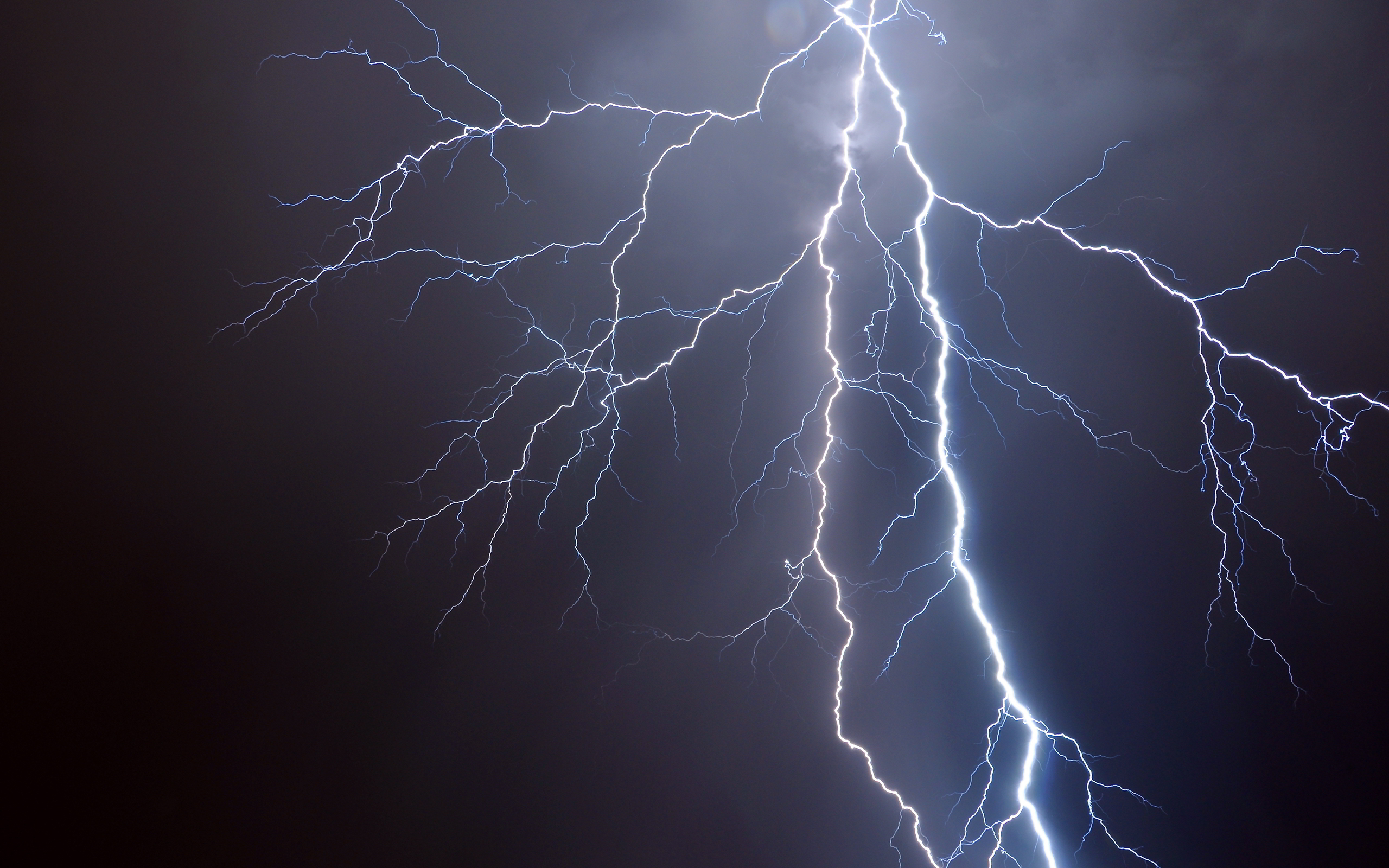 Lightning HD Background
