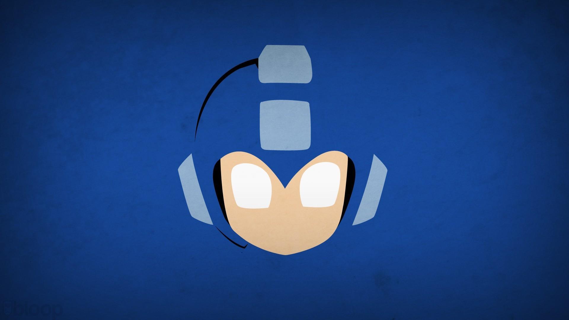 Mega Man Blo0p Minimalism