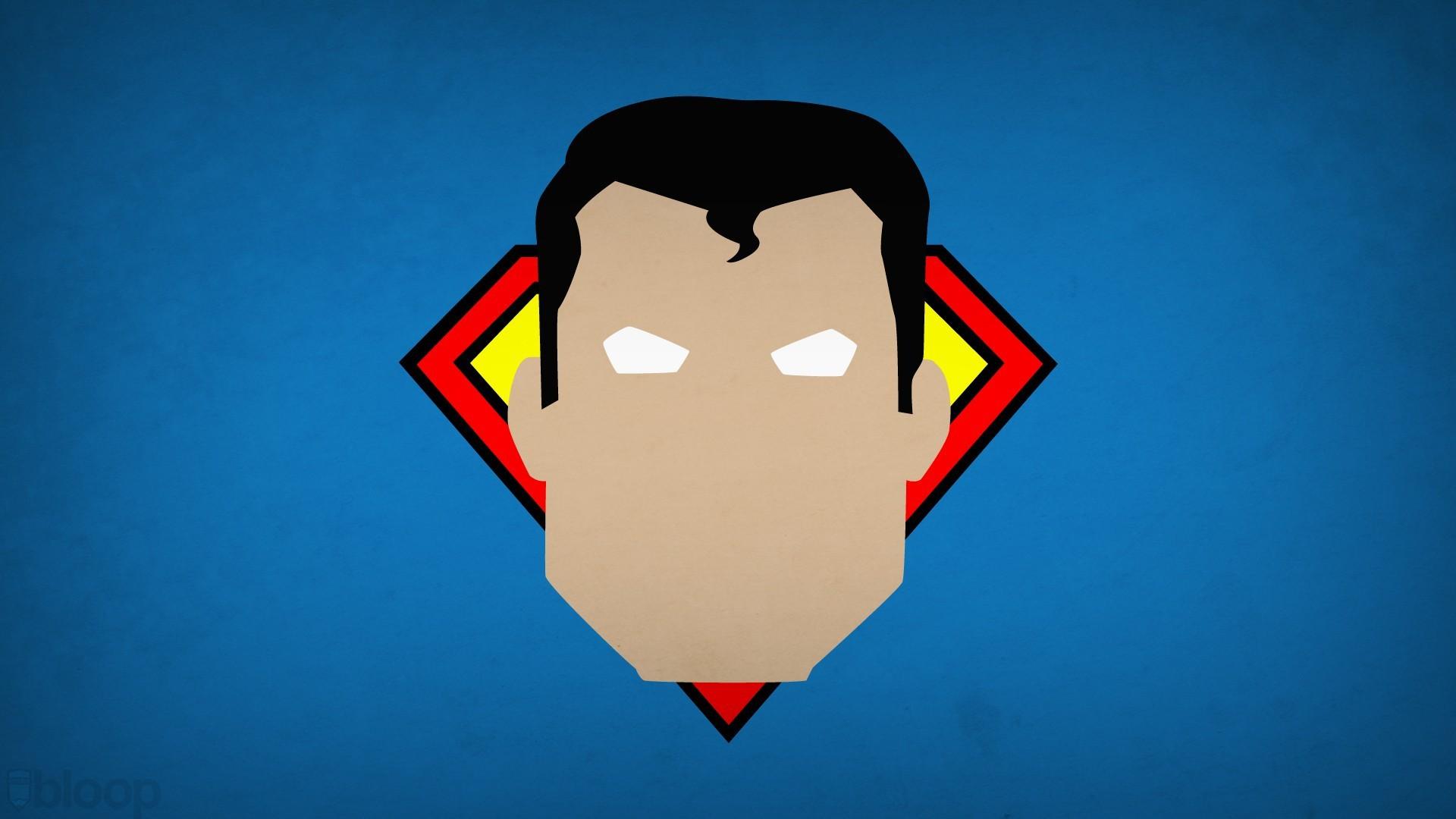 Superman Minimalism Blo0p