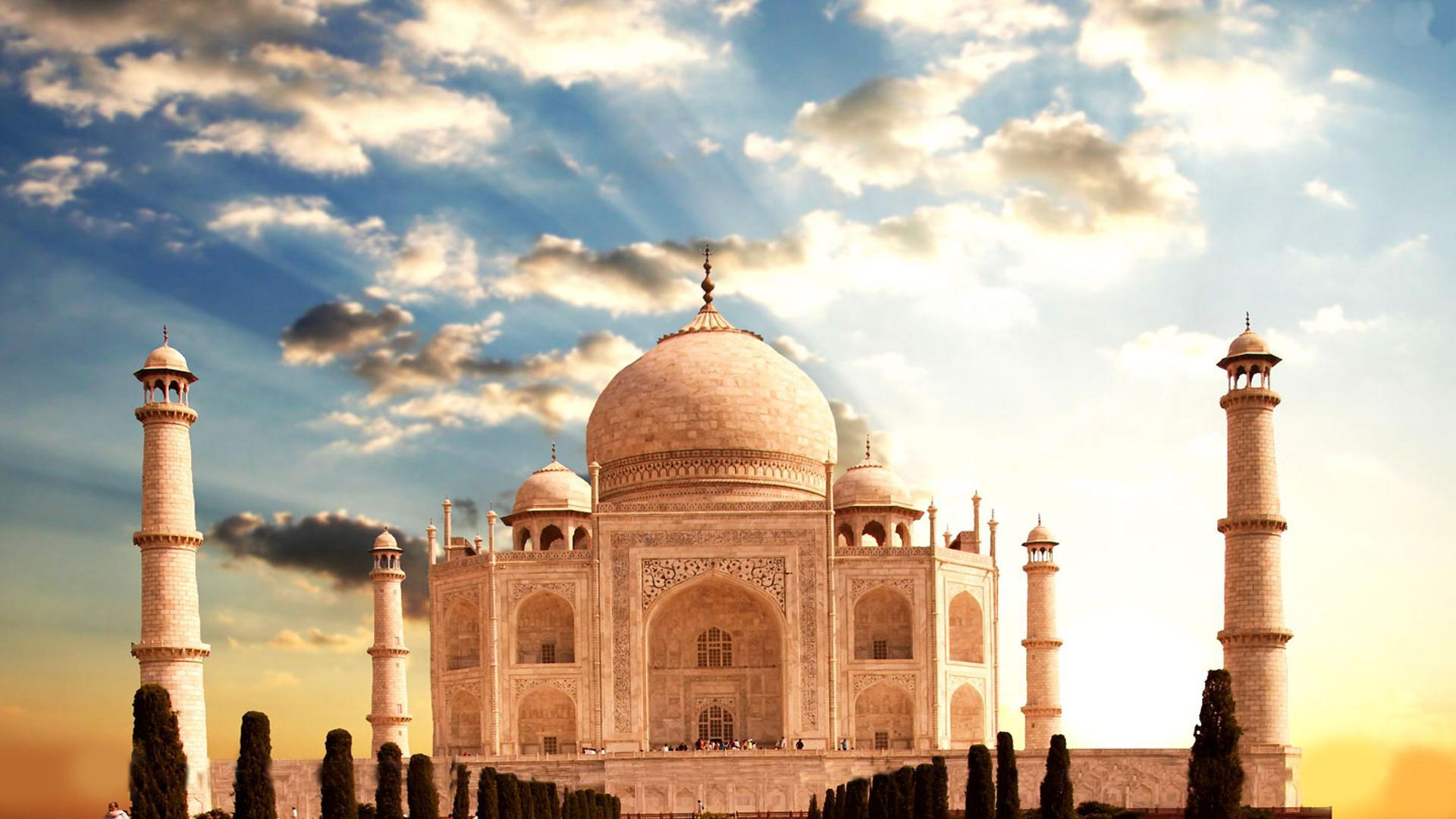 Taj Mahal Desktop HD Wallpapers