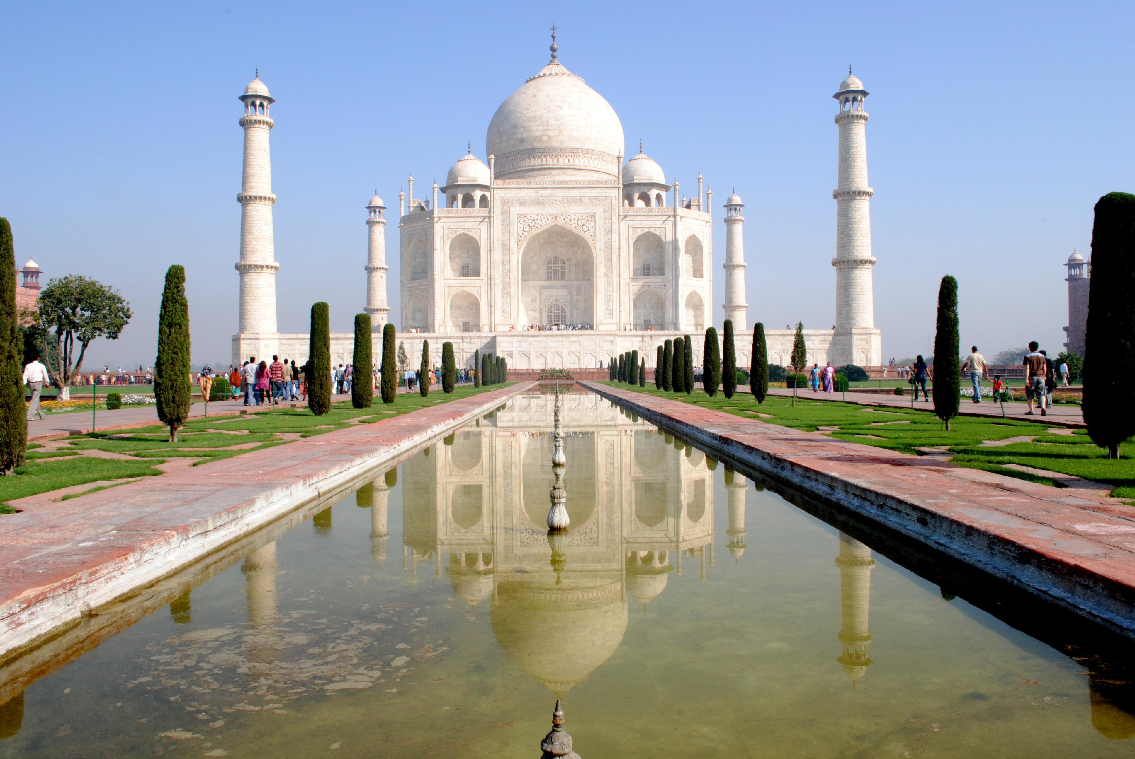 Taj Mahal Hd Background