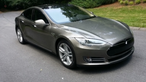 Tesla Model S Background
