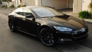 Tesla Model S HD Background