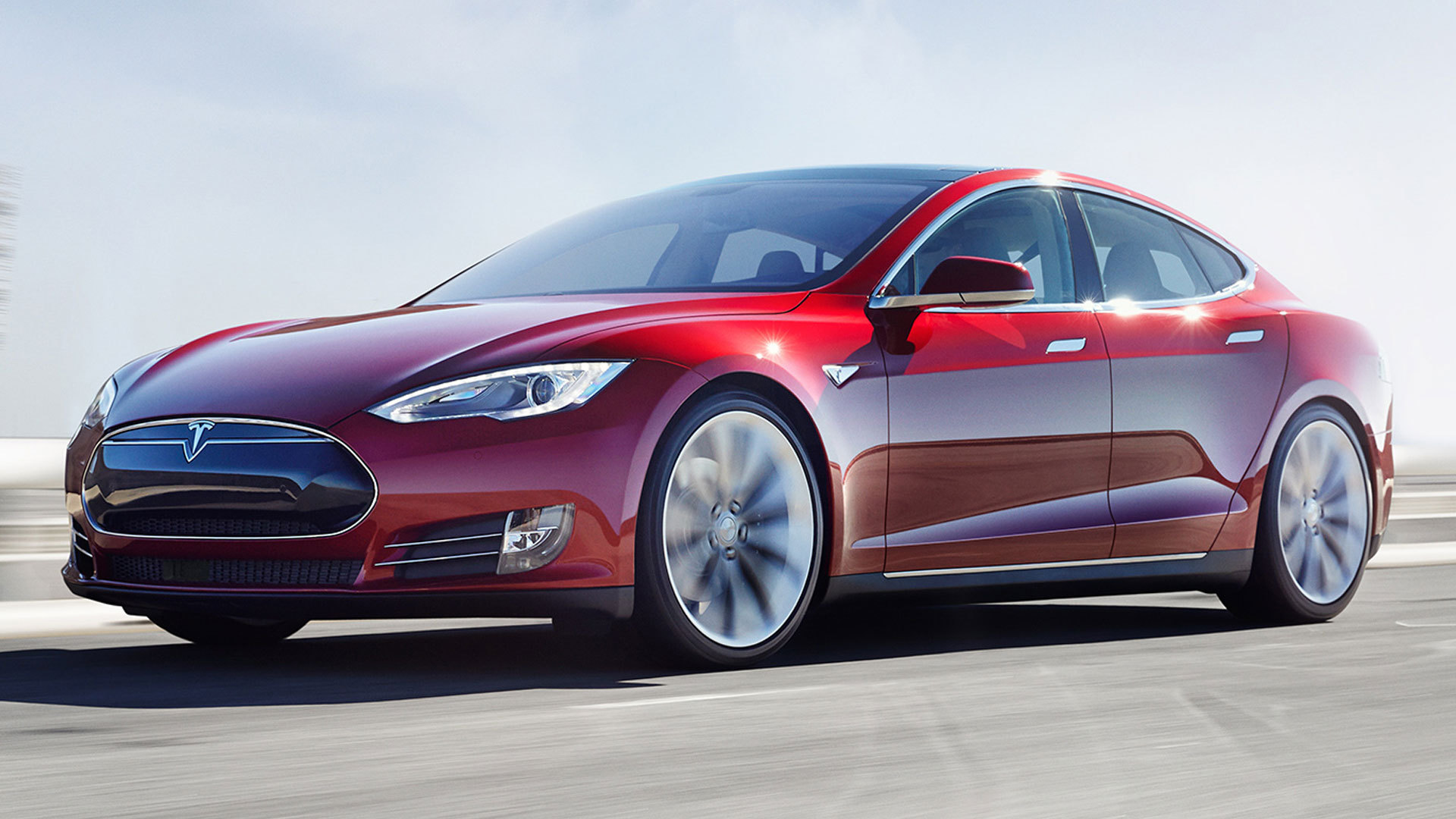 Tesla Model S HD Desktop